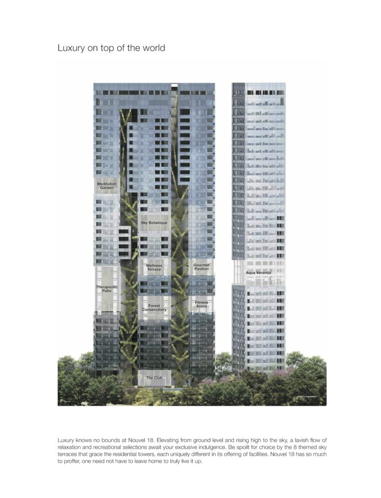Nouvel 18 Cross Site Plan Singapore