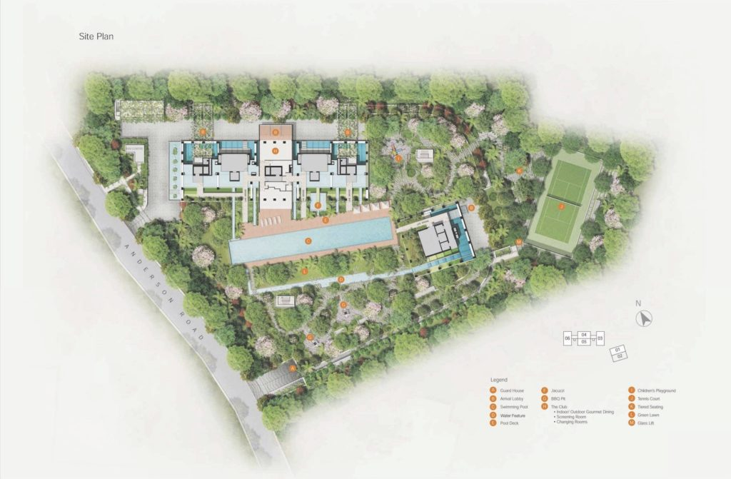 Nouvel 18 Site Plan Singapore