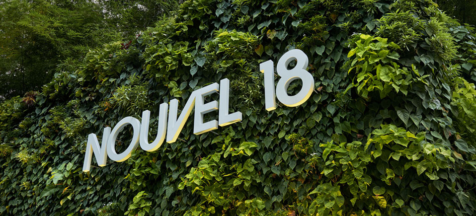 Nouvel 18 Entrance Logo Singapore